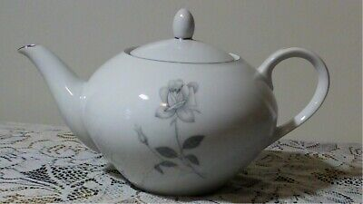 QUEENS ROYAL TEAPOT  Shadow Rose Fine china JAPAN