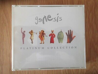 Genesis - The Platinum Collection 3 Cd Box Set With Booklet 0724386373021