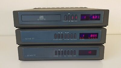 Quad 77 High-End Vintage Audio Set - CD, Tuner, Integrated Amplifier *MEGA RARE*