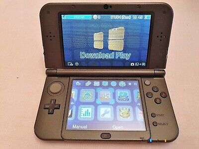 Nintendo 3DS XL Black Handheld Gaming System (new style)