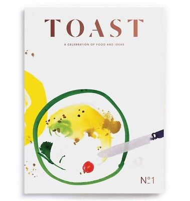 Toast magazine issue 1 - food drink monocle culture - beautiful publication