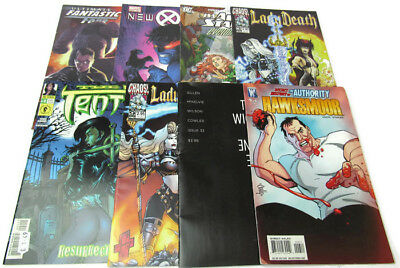 Mixed Bundle of Comics  x 8 Marvel X Men Fantastic Four DC JSA All Stars