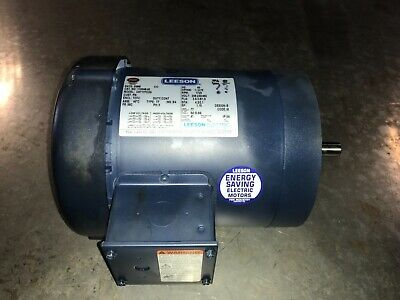 LEESON Motor, #110048.00, #C6T17FC2G,   With Warranty  Free shipping to lower 48
