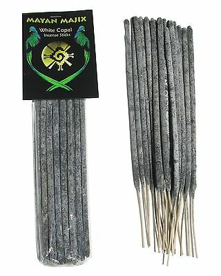 White Copal Incense Sticks - Highest Quality Handcrafted Resin Incense - Mexico