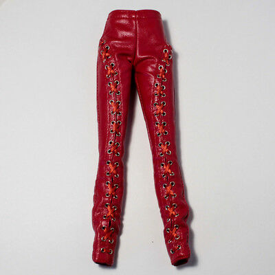 New Red Leather Pants Only Passion Week Elyse Jolie Elise Fashion Royalty Doll