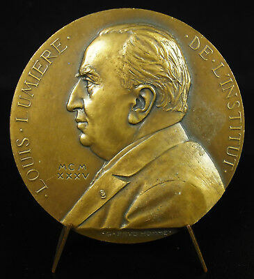 Medal Louis Light Cinematograph Photography Colour Photorama 1935 Medal