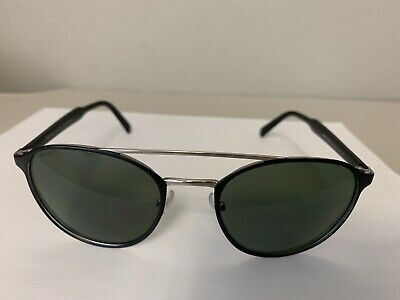 c56d64f7d808 100% Authentic UNISEX Round Prada Sunglasses SPR 62T 1BO-5X1 54 Black 140mm  SALE