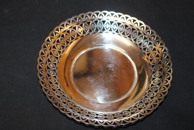 Superb Handmade French Vintage Silver Serving Dish  Reduced For Sale