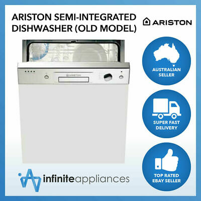 Ariston 60cm 12 Place Setting Semi-Integrated Dishwasher (Old Model)