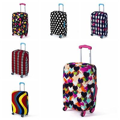 "18-28"" Dustproof Case Protector Elastic Luggage Suitcase Cover Protective Bag"