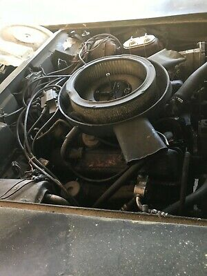 1975 Chevrolet Corvette Stingray 1975 Chevrolet Corvette 350 Engine