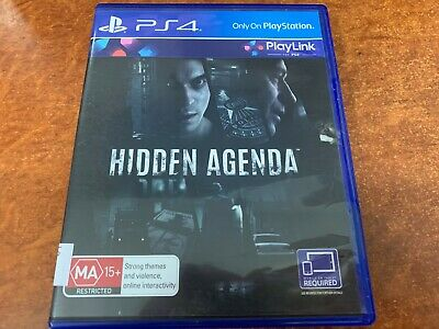 Hidden Agenda Sony PlayStation 4 PS4 Game