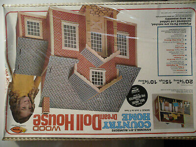 Vintage Arrow Country  Wood Dream Doll House Kit #692  NEW