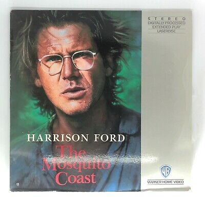 The Mosquito Coast (1986) Laserdisc (11711) Harrison Ford