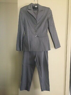 Sochic Suit ladies size 10 - Silver Grey
