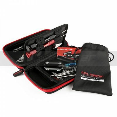 Coil Master DIY Build Tool Kit Mini Ceramic Tweezer Coiling Kit V4 Scissors