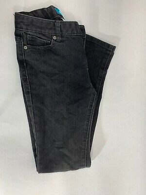Old Navy Faded Black Skinny Jeans Boys (Size 12 Reg) Denim Adjustable Waist Kids