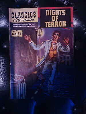 Classics Illustrated No. 148 - Nights of Terror