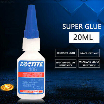5A72 Brand New Loctite 406 Insant Adhesive Super Glue 20G Sale 8375