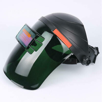 Black Solar Powered Auto-Darkening Welding Helmet Grinding TIG Welder Mask  cby
