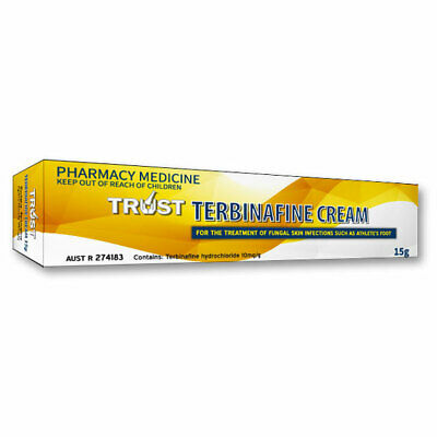 Trust Terbinafine Cream 15G For Fungal Skin Infections Such As Athlete's Foot