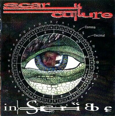 AUTOGRAPHED SIGNED SCAR CULTURE 2 CD Insribe PRIVATE METAL The Famine RAVEN OOP