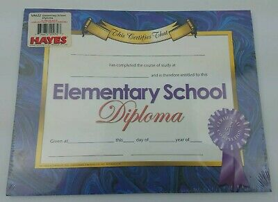 """8 1//2/"""" x 11/"""" Home School Diploma /& Diploma Cover 5 Colors"""
