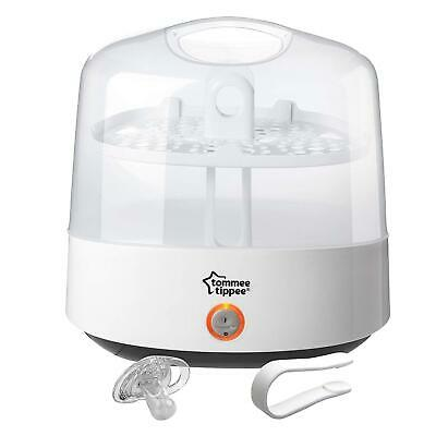 Tommee Tippee Closer To Nature Electric Steam Baby Bottle Steriliser White