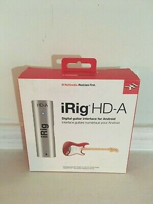 IK Multimedia iRig HD-A Digital Guitar Interface for Samsung Devices
