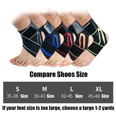 Sports Ankle Support Ultra-thin Elastic Adjustable Brace Sleeve Pain Relief