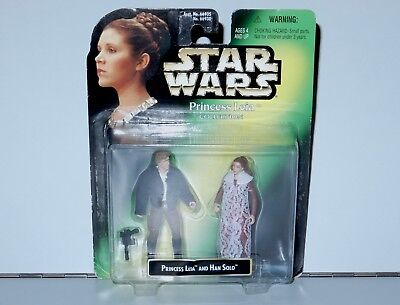 Star Wars Princess Leia Collection Han Solo 2-Pack Mosc Moc 1998 Kenner