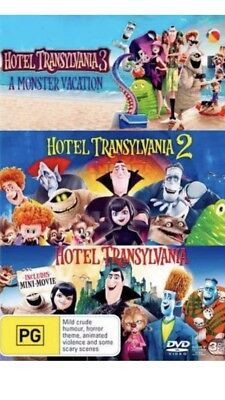 Hotel Transylvania 3 Movie DVD Collection BRAND NEW R4 1 2 3