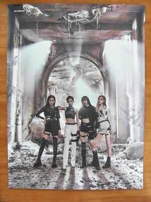 BLACKPINK - Kill This Love [OFFICIAL] (2 SIDED) POSTER K-POP BLACK / PINK