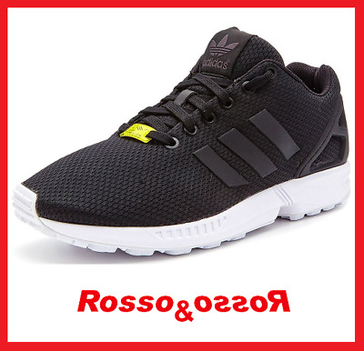 huge selection of 4ab07 61c16 Scarpe ADIDAS da Uomo Ragazzo ZX FLUX M19840 Nere Sneakers Black 40 2 3 42
