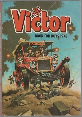 The Victor Book for Boys 1978 (Hardback Annual)