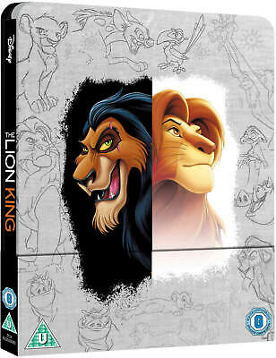 The Lion King - Steelbook - Zavvi Exclusive - Blu-ray & 4K Ultra HD - NEUF/NEW