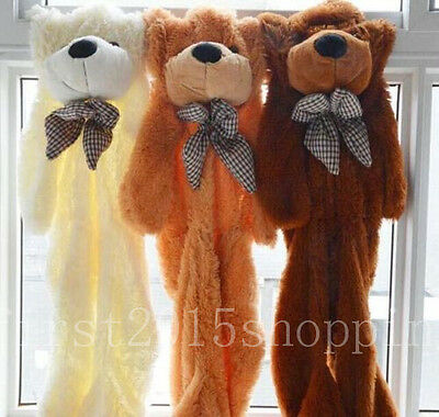 Cute 60-300cm Huge Super Cute Semi-Finished Teddy Bear Skin (Without Cotton) Hot