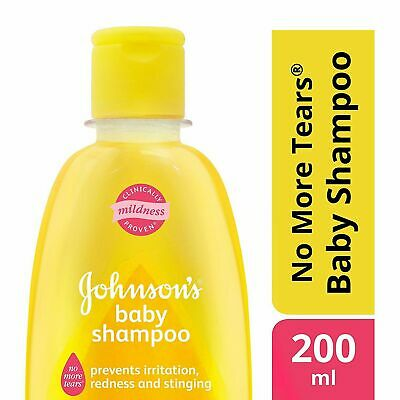 Johnson's Baby No More Tears Shampoo 200 ml Baby soft hair care Free Shipping