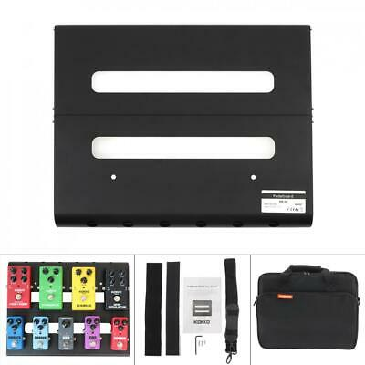 Alloy Pedalboards Detachable Effects Pedal Board Cases Electric Guitar + Parts