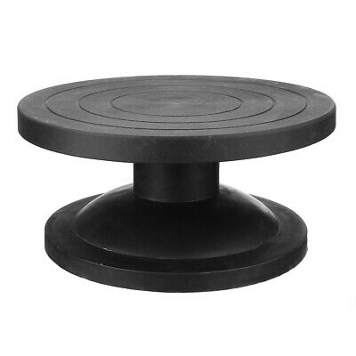 METAL POTTERY BANDING WHEEL POTTERS TURNTABLE FOR CLAY MODELLING 250mm BLACK