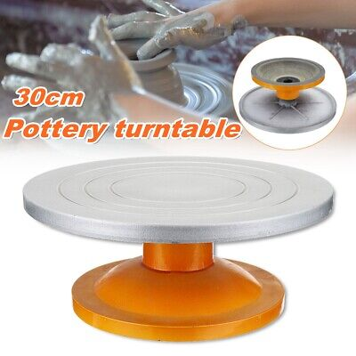 Metal Pottery Banding Wheel Potters Turntable For Clay Modelling 300mm Diameter