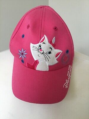 Disneyland Hong Kong Resorts Pink Girls Small Aristocats Marie Cap