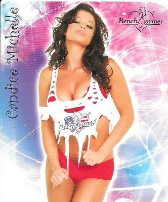 2006 BENCHWARMER SERIES 2 OVERSIZE BOX TOPPER 5 of 5 CANDICE MICHELLE