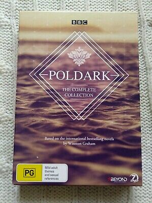 Poldark – The Complete Collection – Bbc -  Dvd, 7-Disc Box Set- R-4, Like New