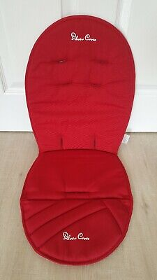 Silver Cross Surf Seat Liner pad cushion red chilli chili