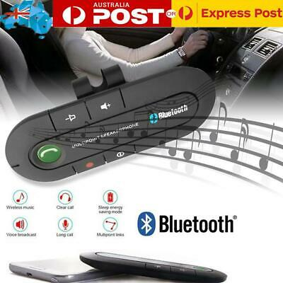 Sunvisor Car Bluetooth Hands-free Call Receiver FM Transmitter Bluetooth Adapter