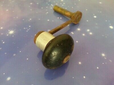 Size 11 Grandfather Clock Crank Winder Winding Key Antique Vintage Wooden Handle