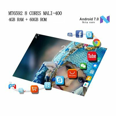 10,1 inch Tablet PC IPS 4+64GB Octa Core 2560x1600 Android7.0 Dual Kamera/SIMm H