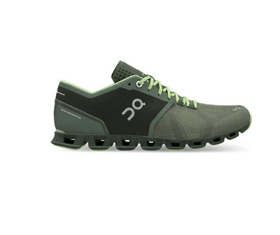 ON CLOUD MENS Cloud X Forest, Jungle Running Shoes New, Factory Sealed