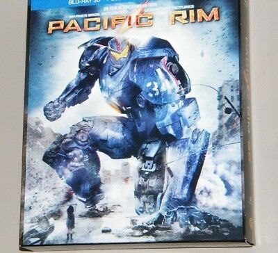 Pacific Rim Blu Ray  3D  - Blu-Ray -  Copie Digitale - Neuf Sans Cello